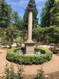 Rose Garden Monument with Marjorie Merriweather Post's Ashes